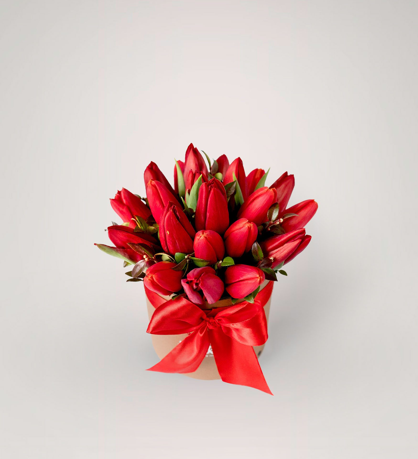 Raudonos tulpes dezuteje